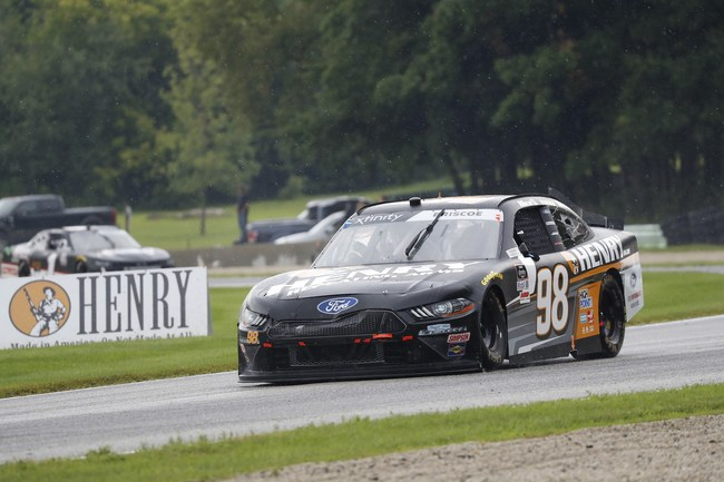 August 8, 2020:  #98: Chase Briscoe, Stewart-Haas Racing, Ford Mustang Henry Repeating Arms   Henry 180 at Road America in Elkhart Lake, WI. (HHP/Harold Hinson)